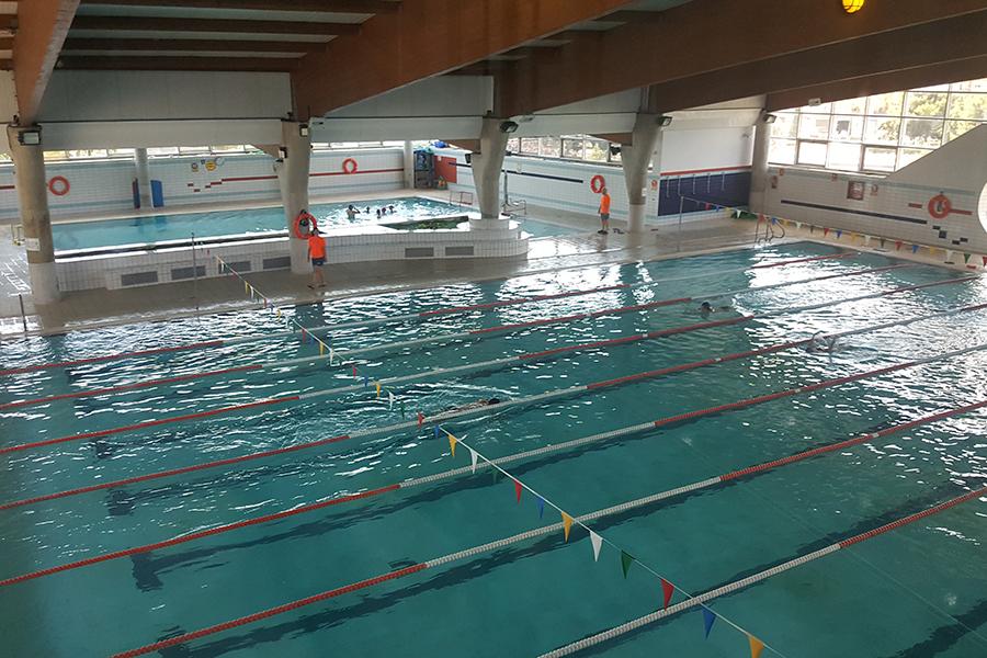Paterna implanta en su piscina cubierta un pionero sistema for Piscina municipal cubierta