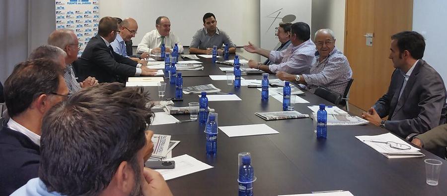 La junta directiva de Asivalco se reunió ayer. | PATERNA AHORA