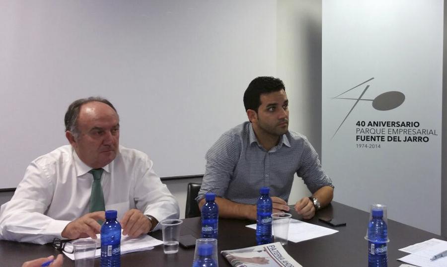 El presidente de Asivalco Santiago Salvador y Sagredo. | PATERNA AHORA